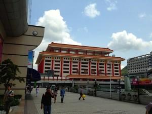 深圳の羅湖駅