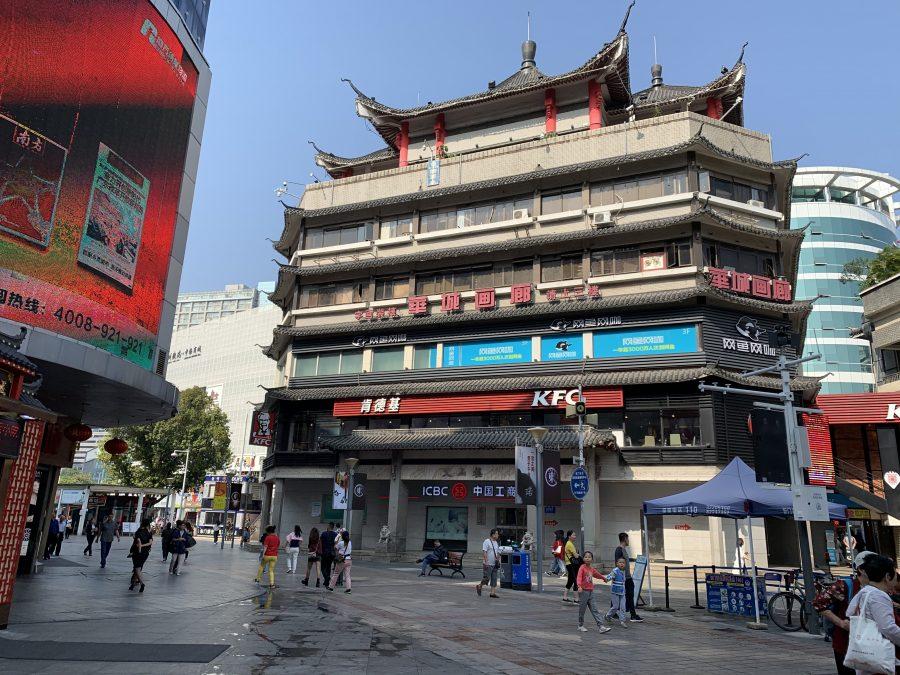 深セン東門歩行街のKFC