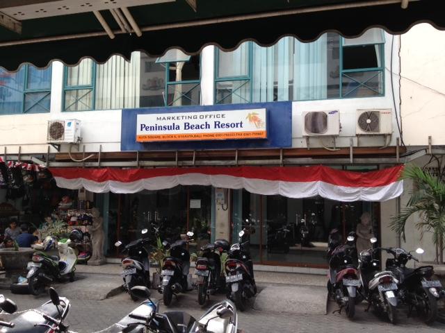 peninsula beach resort marketing office