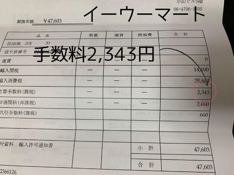 イーウーマート関税手数料